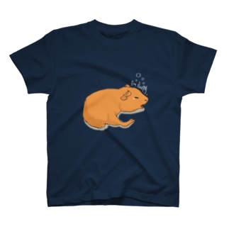 眠いモルモット Tシャツ