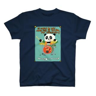 Panda lee Powell T-shirts