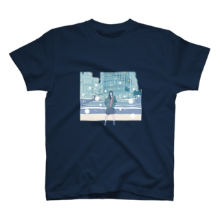 Midnight in Shibuya  T-shirts
