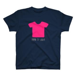 ピンクTシャツ T-shirts
