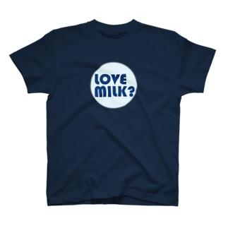 LOVE MILK? LOGO T-shirts