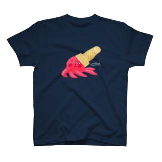 コーンハット・タコ T-shirts