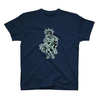 気ままな女神 T-shirts