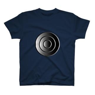 鋼の同心円 T-shirts