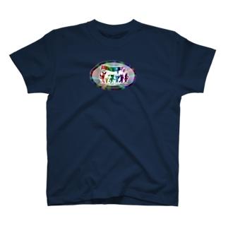ぱんちHOD30 rainbow T-shirts