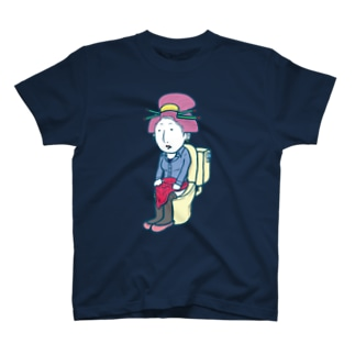 Toilet Time (Girl) T-shirts