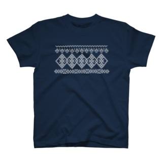 こぎん刺し×東欧刺繍 T-shirts