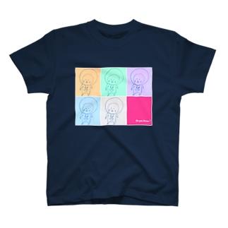 っぽい落書き_a T-shirts