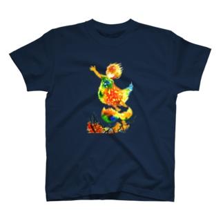 こころ、舞い上がる T-shirts