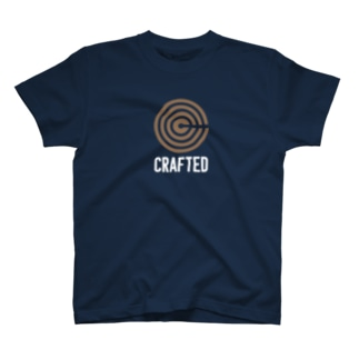CRAFTED 白ロゴ T-shirts