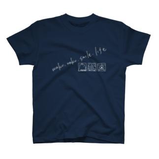 waku.raku.smile.life T-shirts