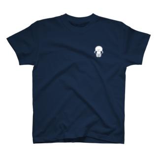 マリンシリーズ・タコ(白) T-shirts