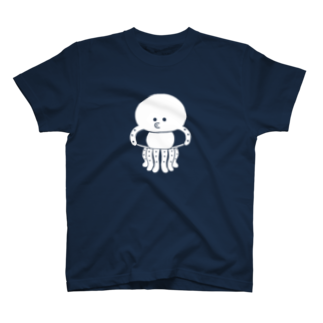 ゴンのマリンシリーズ・タコ(白) T-shirts