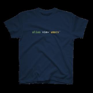 null shopのalias vim='emacs' T-shirts