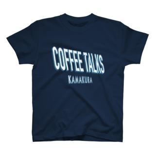 COFFEE TALKS KAMAKURA TEE コーヒートークスカマクラ ロゴ COFFEE BEANS BARISTA コーヒー豆 コーヒースタンド カフェ CAFE COFFEE STAND バリスタ T-shirts