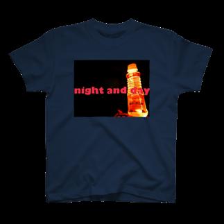 老舗 陽介屋のnight and day T-shirts