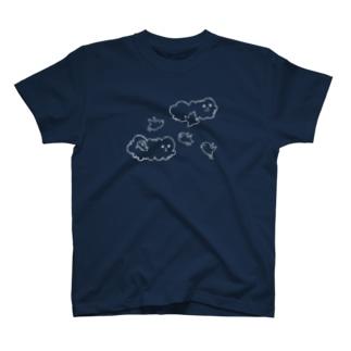雲と小鳥 T-shirts