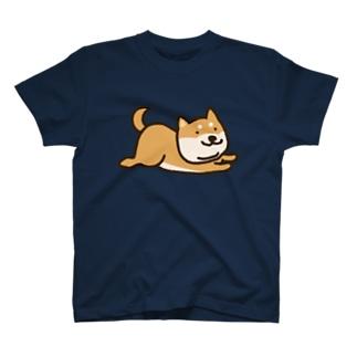 いま行く柴犬 T-shirts