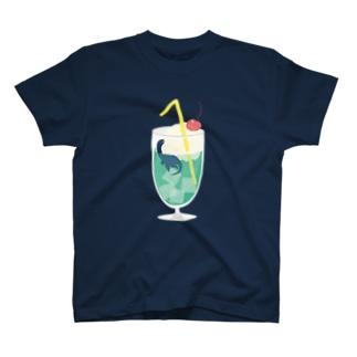クリームソーダザウルス T-shirts