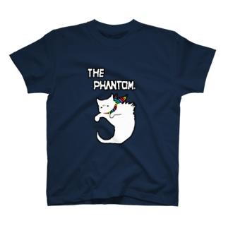 彷徨える白い亡霊の服 Rainbow Pride Colors T-shirts