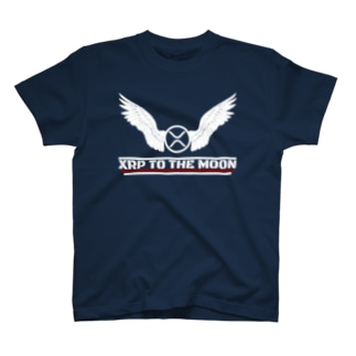 XRP To The Moon(濃色用) T-shirts