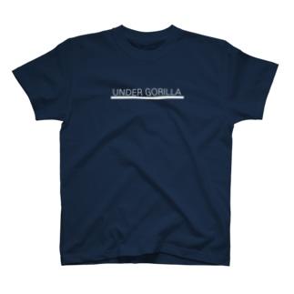UNDER GORILLA 白小 T-shirts