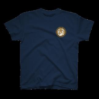 ラビッシュアートの古代の満月 T-shirts