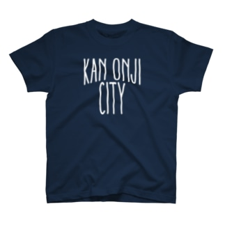KAN-ONJI CITY - White Logo T-shirts