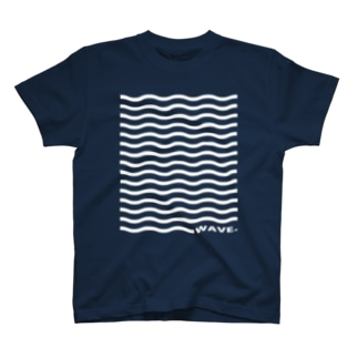 wave wave wave Tシャツ T-shirts