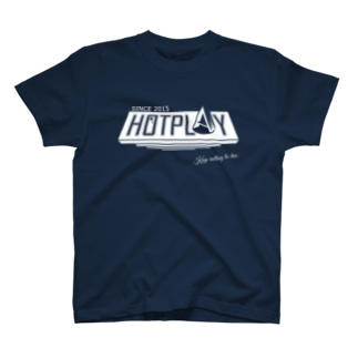 ~熱くあそべ~HOTPLAY(黒) T-shirts