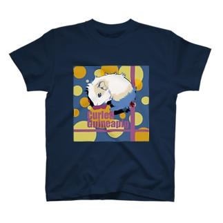 丸まるアビシニアンモルモット T-shirts