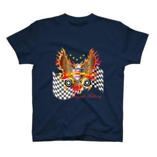 アメリカンモーターサイクル イーグル T-shirts