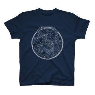 Sea constellation【クラゲ座のある海の星座】 T-shirts