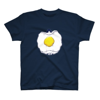 目玉焼きおふとん女子。 T-shirts