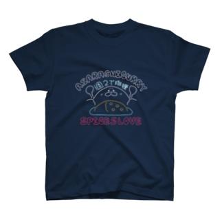 週2でカレー T-shirts