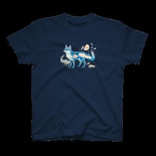 ちなきのこの深海のウミキツネ T-shirts