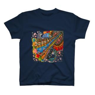 Sarry/サリーのサリT【フタアケタラポーン】 T-shirts