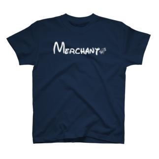 FLAKKの商人(Merchant) T-shirts