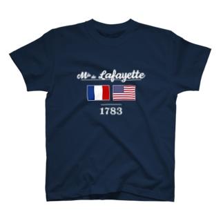 MARQUIS DE LAFAYETTE T-shirts