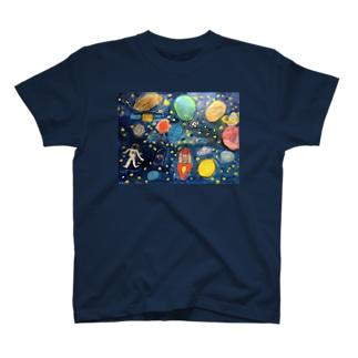 こどもの頭の中の宇宙 T-shirts