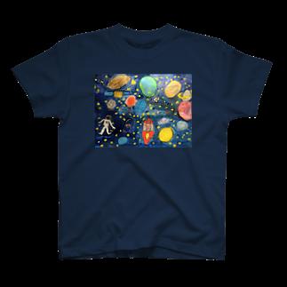 mackeyのこどもの頭の中の宇宙 T-shirts