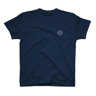 ちゃんピヨんロゴ(ホワイト) T-shirts