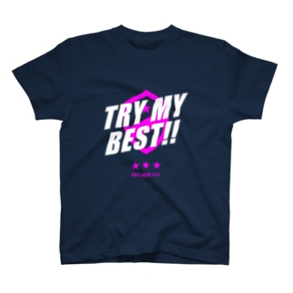 JENCO IMPORT & CO.のJENCO 2019AW_TRY MY BEST!! T-shirts