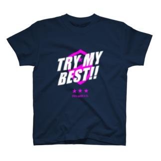 JENCO 2019AW_TRY MY BEST!! T-shirts
