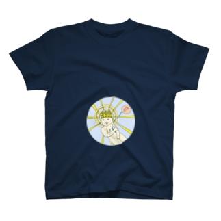 月結(ツクユヰ)の神聖児 T-shirts