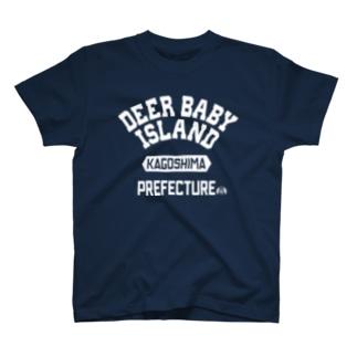 鹿児島県  DEER BABY ISLAND T-shirts