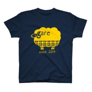 ガレリー 黄 T-shirts