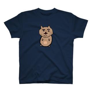 ニートな猫(トレーニングをしないとこうなります。) T-shirts