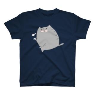 やさぐれにゃんこ T-shirts