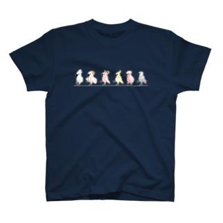 オウムDOT T-shirts